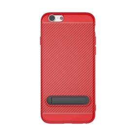 Husa cu Stand Carbon Fiber pentru iPhone 6/6s