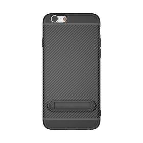 Husa cu Stand Carbon Fiber pentru iPhone 6 Plus/ 6s Plus