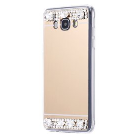 Husa Diamond Mirror pentru Galaxy J3 (2016)