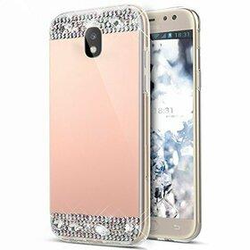 Husa Diamond Mirror pentru Galaxy J7 (2017)