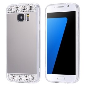 Husa Diamond Mirror pentru Galaxy S6 Edge