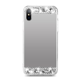 Husa Diamond Mirror pentru iPhone X
