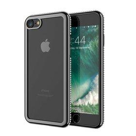 Husa Diamond Transparenta pentru iPhone 7/ iPhone 8
