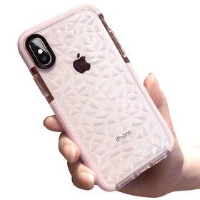 Husa Diamond Transparenta pentru iPhone X/ iPhone XS