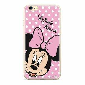 Husa din silicon Disney Original cu Minnie pentru Samsung Galaxy A10 Transparent