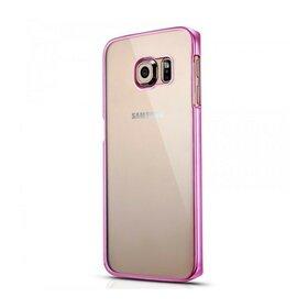 Husa Electro Transparent pentru Galaxy S6 Edge