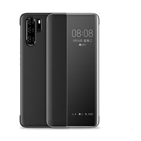 Husa flip inteligenta pentru Huawei P20 Pro Black