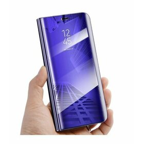 Husa Flip Mirror pentru Galaxy A7 (2018) Purple