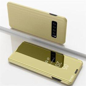 Husa Flip Mirror pentru Galaxy S10 Plus
