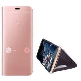 Husa Flip Mirror pentru Galaxy S7 Rose Gold