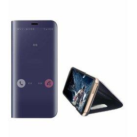 Husa Flip Mirror pentru Galaxy S8 Plus Purple