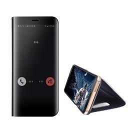 Husa Flip Mirror pentru Huawei P40 Black