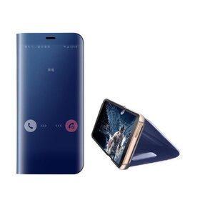 Husa Flip Mirror pentru Huawei P40 Pro Blue