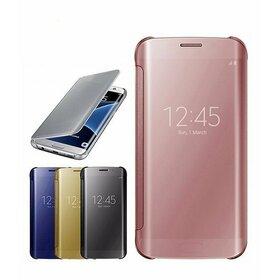 Husa Flip Mirror pentru Huawei P9 Lite (2017)