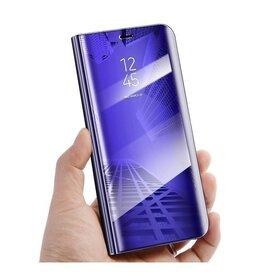 Husa Flip Mirror pentru Huawei Y5p Purple