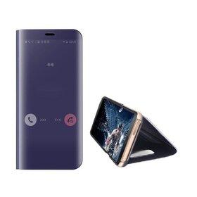 Husa Flip Mirror pentru Huawei Y6p (2020) Purple