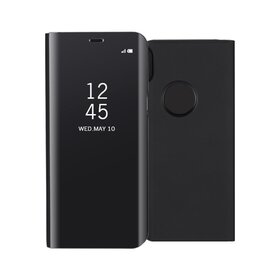 Husa Flip Mirror pentru iPhone X/ iPhone XS Black