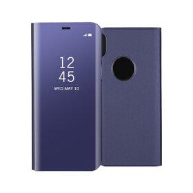 Husa Flip Mirror pentru iPhone X/ iPhone XS Purple