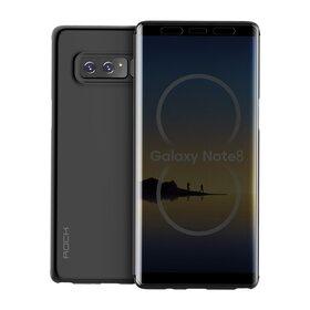 Husa Flip Rock Royce Transparenta pentru Galaxy Note 8