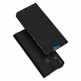 Husa flip tip Carte DUX DUCIS Skin Pro pentru Huawei P Smart Z Black