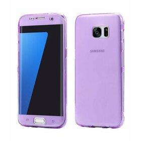 Husa Flip Transparenta pentru Galaxy S7