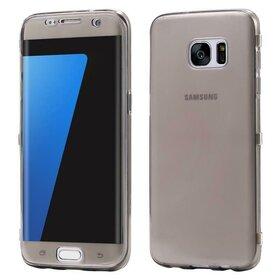Husa Flip Transparenta pentru Galaxy S7 Edge