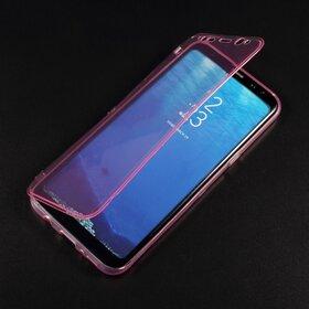 Husa Flip Transparenta pentru Galaxy S8 Plus