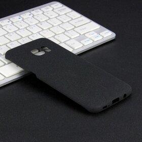 Husa Frosted Matte pentru Galaxy S7 Edge Black