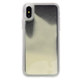 Husa Glow in the Dark pentru iPhone X/ iPhone XS Black