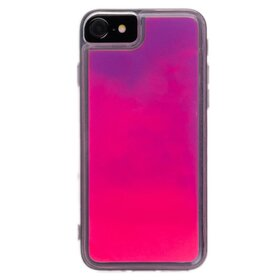 Husa Glow in the Dark pentru iPhone 7/ iPhone 8 Purple
