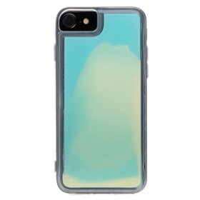 Husa Glow in the Dark pentru iPhone 7/ iPhone 8 Blue