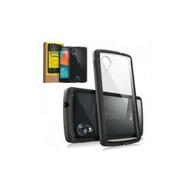 Husa Google Nexus 5 Ringke FUSION BLACK+BONUS folie protectie display Ringke