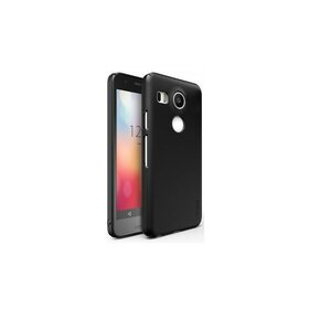 Husa Google Nexus 5X 2015 Ringke SLIM SF BLACK+BONUS folie protectie display Ringke