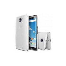 Husa Google Nexus 6 Ringke SLIM ALB+BONUS folie protectie display Ringke