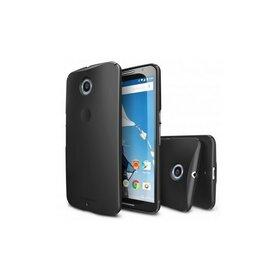 Husa Google Nexus 6 Ringke SLIM NEGRU+BONUS folie protectie display Ringke