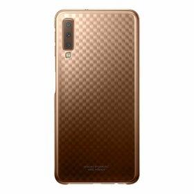 Husa Gradation pentru Galaxy A7 (2018) Gold