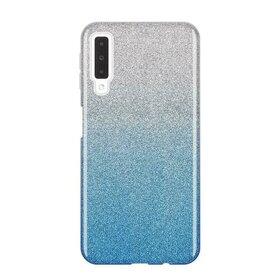 Husa Gradient cu sclipici pentru Galaxy A7 (2018)
