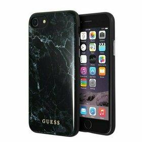 Husa Guess cu design Marble pentru Iphone SE 2 (2020) / iPhone 8 / iPhone 7 Black
