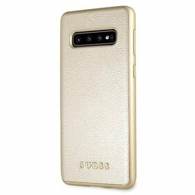 Husa Guess Iridescent Aurie pentru Galaxy S10