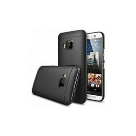 Husa HTC One M9 Ringke SLIM NEGRU+BONUS folie protectie display Ringke