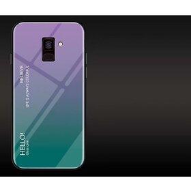 Husa Hybrid Back Degrade pentru Galaxy A8 (2018)