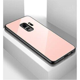 Husa Hybrid Back pentru Galaxy A8 (2018) Rose Gold