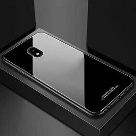 Husa Hybrid Back pentru Galaxy J5 (2017) Black