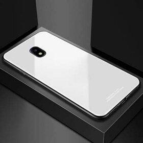 Husa Hybrid Back pentru Galaxy J7 (2017) White