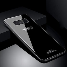 Husa Hybrid Back pentru Galaxy Note 8 Black