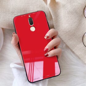 Husa Hybrid Back pentru Huawei Mate 10 Lite Red