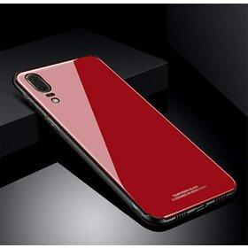 Husa Hybrid Back pentru Huawei P20 Red