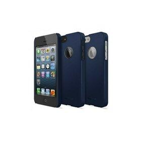 Husa iPhone 5/5s iPhone SE Ringke SLIM SF NAVY LOGO CUT+BONUS folie protectie display Ringke