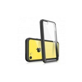 Husa iPhone 5c Ringke FUSION NEGRU + BONUS folie protectie display Ringke