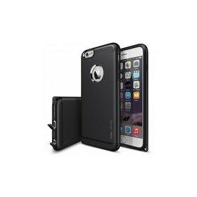 Husa iPhone 6 Plus / 6s Plus Ringke ARMOR MAX NEGRU+BONUS Ringke Invisible Defender Screen Protector